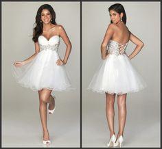 vestidos de quinceañera sencillos y cortos - Buscar con Google