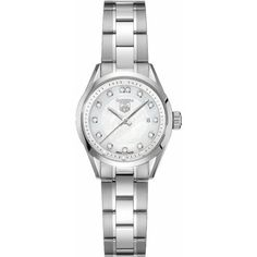 TAG Heuer Women's WV1411.BA0793 Carrera Diamond Watch: Watches: Amazon.com