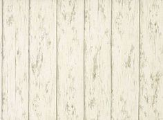 "Peeling White Wood 3.5"" Planks Wallpaper 5815495"