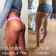 Image result for cardio vs weight training