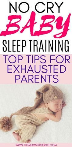 Want to sleep train your baby? Here are tips for sleep training your baby without any tears. How you can use gentle sleep training to get your baby sleeping for longer Gentle Sleep Training, Sleep Training Methods, Toddler Sleep Training, Crying It Out Method, Newborn Baby Tips, Newborn Care, Gentle Baby, Unique Baby Names, Training Tops