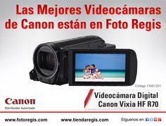 Llegaron a Foto Regis las nuevas Videocámaras de Canon.