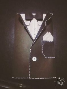 Another tuxedo card!!!!!!! The perfect Father's Day gift...