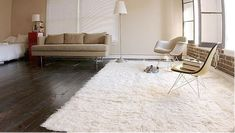 Wool Flokati Shag Rug gift for new home owner