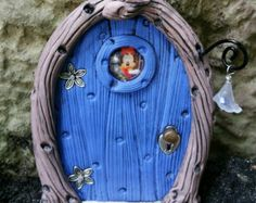 Fairy Door 1250 Hobbit Gnome by FairyDoorsByTommie on Etsy