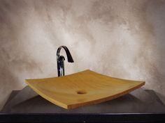 Brody 16'' x 16'' x 3.5   Zen Bamboo Vessel   Honed Zen Bamboo Vessel Sink Eco-friendly