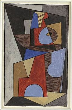 Pablo Picasso. Cubist Composition, 1910