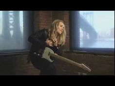 """Melissa Etheridge 'NERVOUS'. This is one of my absolute favorites by her. Such a hot song. The video also features Edie Falcone (from """"Nurse Jackie""""), the show that Melissa's life partner Linda Wallem created."""