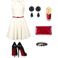 Party Outfit, created by snicoleabdou.polyvore.com