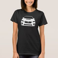 Subaru WRX STI Outline T-Shirt -  2015 Subaru WRX STI outline design placed on any colour of your choosing! Designed by: ThatBoostTho    ... #custom #Halloween Themed  #gift #shirt design by #ThatBoostTho - #shirt #subaru #wrx #sti #t-shirt #automotive #cargirl #import #jdm #outline #icon