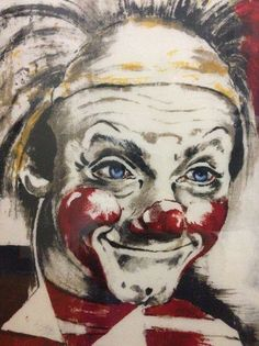 Clowns, Clown Paintings, Sculptures, Homes, Interior, Artwork, Simple, Decorations, Nice Asses