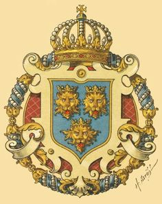 Kingdom of Dalmatia, Österreichisch Ungarische Wappenrolle 1900, Hugo Gerhard Ströhl.