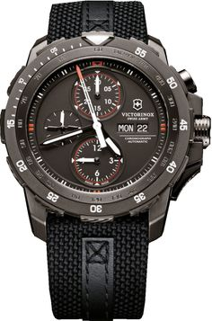 Victorinox Swiss Army Watch Alpnach Mechanical Chronograph Special Edition