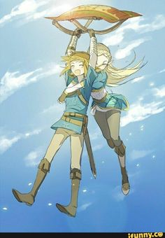The Legend of Zelda Breath of the Wild Link and Zelda The Legend Of Zelda, Legend Of Zelda Memes, Legend Of Zelda Breath, Malon Zelda, Film Manga, Botw Zelda, Fire Emblem Awakening, Wind Waker, Link Zelda