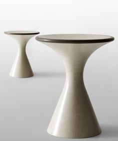 Enzo Berti; Marble 'Pedina' Stool by Decormarmi for Kreoo, 2014.