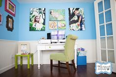 Good canvas display layout.  I wonder what the sizes are?  Studio of Wendy Updegraff Photography.