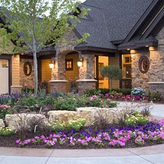 Love The Exterior Of This Home!