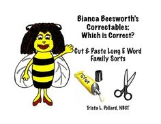 Word sorts are a wonderful activity for helping your students analyze words to look for patterns. Now your students can use sorts to analyze and compare spellings of different rimes (vowel teams) for long vowel sounds to see which spellings are correct. Long E Words, Which Is Correct, Long Vowels, Word Sorts, Vowel Sounds, Reading Worksheets, Cut And Paste, Word Families, Sight Words