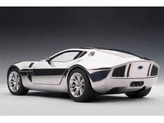Ford Shelby GR-1 Concept Aluminum Casting 1/18 Chrome Ford Shelby, Metal Projects, Scale Models, Cars And Motorcycles, Diecast, Chrome, Vehicles, Concept, Games