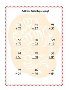 Thanksgiving Themed Math -Addition and Subtraction With and Without Regrouping Third Grade Math, Seventh Grade, Math Addition, Addition And Subtraction, Homeschool Worksheets, Brain Breaks, Morning Work, Task Cards, Teacher Newsletter