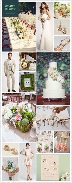 Secret Garden wedding inspiration