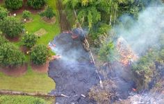 Lava flow claims empty farm shed, trees - Hawaii News - Honolulu Star-Advertiser