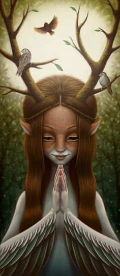 """""""deer"""" girl"""