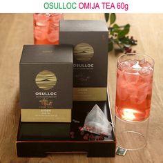 OSULLOC Omija tea 60g (Omiza tea), fruit of Maximowiczia typica, made in Korea #OSULLOC