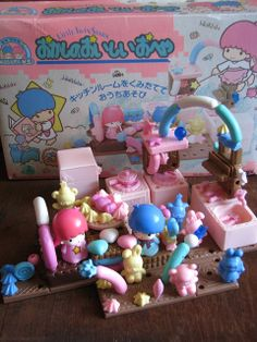 vintage Little Twin Stars playset 1988 by Siri_Mae_doll, via Flickr