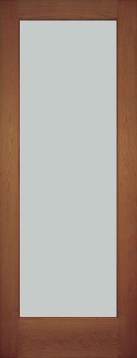 S-143 Frosted Glass Solid Wood Interior Door