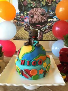 Little big planet cake