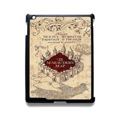 The Marauders Mao Harry Potter TATUM-10915 Apple Phonecase Cover For Ipad 2/3/4, Ipad Mini 2/3/4, Ipad Air, Ipad Air 2