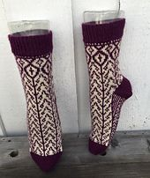 Ravelry: Merethes sokker pattern by Gro Andersen Leg Warmers, Ravelry, Socks, Pattern, Design, Fashion, Loom Knit, Threading, Leg Warmers Outfit