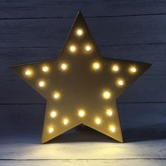 Light Up Star S Bedroom Sign Pink Decoration Night Room