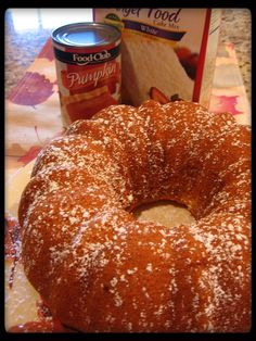 Angel Food Cake with Pumpkin | ... ' up north: Low fat Pumpkin Angel Food Cake...pinned it and tried it