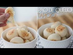 Pão de Queijo Fit (Tapioca) - Pam*B Paleo, Keto, Healthy Life, Veggies, Food And Drink, Low Carb, Gluten Free, Yummy Food, Breakfast