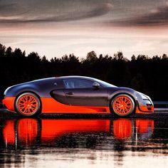Slick Bugatti Veyron Super Sport