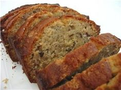 Flax seed Banana Bread Ingredients: 2 cups all purpose flour 1 tsp baking soda tsp salt tbps ground golden flax seed cup butter, softened cup brown sugar 2 eggs, beaten tsp pure vanilla extract 2 cups mashed, overripe bananas Best Banana Bread, Banana Bread Recipes, Flax Seed Recipes, Good Food, Yummy Food, Healthy Treats, Eat Healthy, Healthy Recipes, Healthy Life