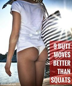 9 butt moves that are more effective than squats - and they come without the knee pain.