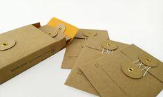 pretty kraft envelopes