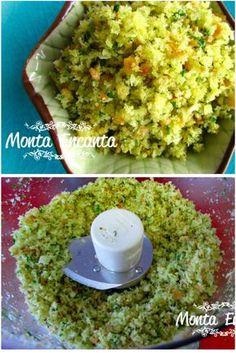 Mollica di Pane ou para nós farinha de pão. Eu trouxe essa farinha para você porque ela é um coringa na cozinha, uso muito aqui em casa, desde que aprendi com chef italiano, meu professor no curso …
