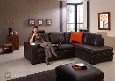 Luxusní sedací souprava s taburetem Lovelo Sofa, Couch, Furniture, Home Decor, Settee, Settee, Decoration Home, Room Decor, Sofas