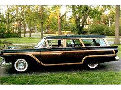 1957 Ford Country Squire Station Wagon
