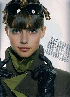 French Elle 16th February 1987 En Avant-Premiere Model: Roberta Chirko & Akure Wall Ph: Lothar Schmid Stylist: Brigette Langevin