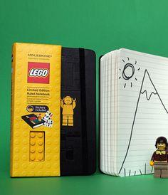 Lego Moleskin Notebook.  $30.00