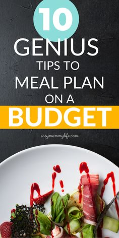 Meal planning on a budget for beginners. Plan healthy family meals with these budget friendly ideas. Healthy Family Meals, Healthy Snacks, Healthy Eating, Healthy Recipes, Frugal Meals, Budget Meals, Meal Time Schedule, Budget Meal Planning, Kid Friendly Meals