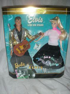 Barbie Loves Elvis Doll Gift Set, Mid 1990's