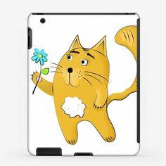 Чехол iPad «Котик влюбленный»