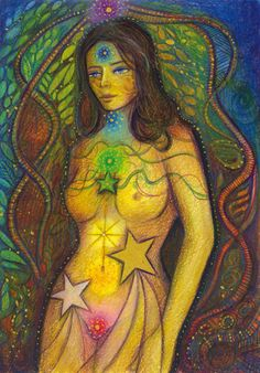 Starborn by Toni Carmine Salerno Chakra Art, Chakra Healing, Rainbow Art, Spiritual Inspiration, Daily Inspiration, Sacred Art, Color Theory, Buddhism, Magick