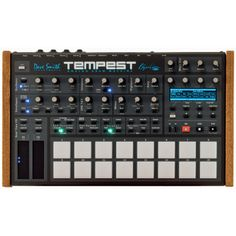 Dave Smith Instruments Tempest. An analogue drum machine synth. #davesmithinstruments #tempest #drummachine